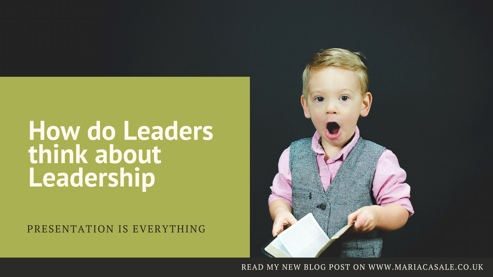 How do Leaders think about Leadership – Continued